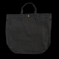 UNIONMADE - Stanley & Sons - Market Bag in Striped Indigo
