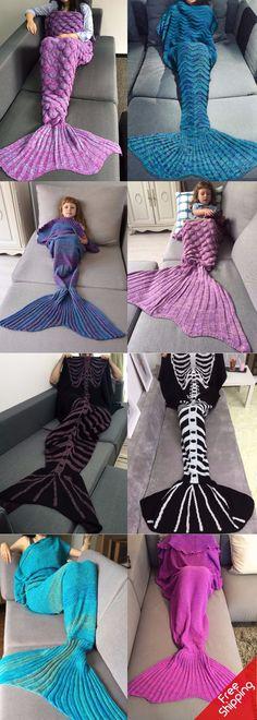#FreeShipping #Mermaid #Blanket Start From $8 | For Adult/Kids | Sammydress.com