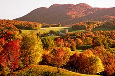 Autumn in Vermont Countryside, I Have been here and seen this . It is sooooo Beautiful