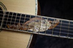 Sea Turtle inlay by master luthier Chris Alvarado of Driftwood Guitars Guitar Building, Ukulele, Driftwood, Musical Instruments, Guitars, Turtle, Sea, Music Instruments, Turtles