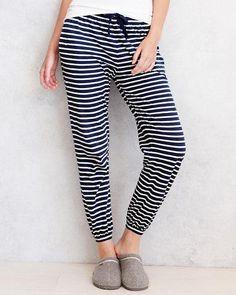 Easy Knit Pajama Pants