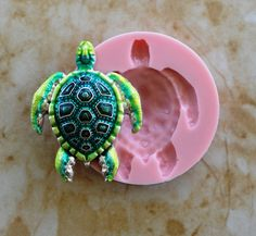 Turtle Silicone Mold silcone Molds Candy Nautical Fish