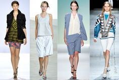 Looking for a new trend? Bermuda shorts are in.