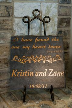 custom wedding plaques...they can be rustic, elegant, beautiful...whatever you want them to be....and they can say whatever you want them to say....place them anywhere and everywhere...