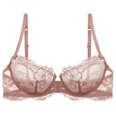 Stunning balconette bra made of the finest lace!
