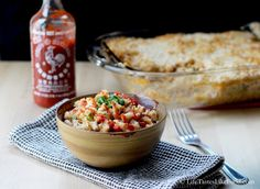 Classic Sriracha Mac and Cheese
