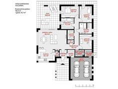 Case cu terasa acoperita mare. Pentru un stil de viata relaxat Case, Floor Plans, Modern, Projects To Try, Floor Plan Drawing, House Floor Plans