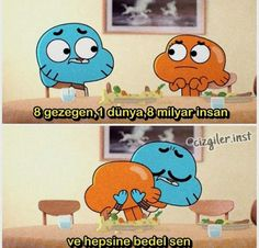 Gumball, Meaningful Words, Darwin, Best Friends, Life Quotes, Happy Birthday, Family Guy, Doodle, Disney