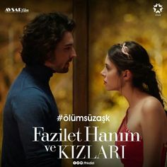 Promotional with Alp Navruz as Sinan Egemen and Deniz Baysal as Hazan in the Turkish TV series FAZILET HANIM VE KIZLARI, 2017-2018. Vogue Men, Lany, Turkish Actors, Journalism, Quizzes, Falling In Love, Actors & Actresses, Tv Series, Drama