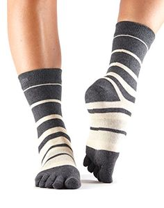 quality design 28367 7f376 ToeSox Casual Crew Toe Socks Groove Small -- You can get additional details  at the