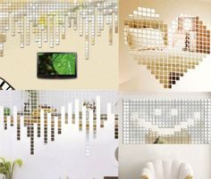20Pcs-Acrylic-Art-3D-Wall-Mirror-Stickers-DIY-Home-Decals-Decor-Removable