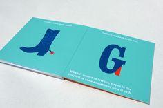 typography book for children. My children.