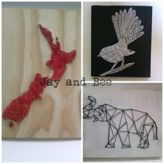 Jay and Bee Jay and Bee is all about making unique and affordable art work for your home. No two pieces are the same and every piece of string art can be changed and custom made to suit your tastes. Each piece of string art is made from recycled wood locally sourced. www.facebook.com/jayandbee1  Instagram: @jayand.bee email : jayandbee1@yahoo.com Recycled Wood, Affordable Art, String Art, Work On Yourself, Art Work, Jay, Crochet Necklace, Recycling, Suit