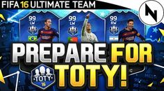 We want to give all players of FIFA 16 a heads up to say that FIFA 16 TOTY Market Crash release time is coming very soon.Everyone wants to know when TOTY is released for FIFA but we already told you Soccer Fifa, Live Stream, Advice, Marketing, Coins, Play, Youtube, Tips, Rooms