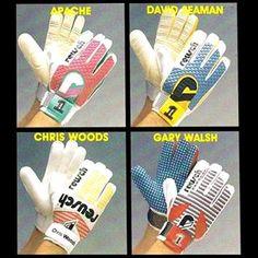 1987 @reuschuk @reusch_brand #DavidSeaman #ChrisWoods #GaryWalsh #classicgloves