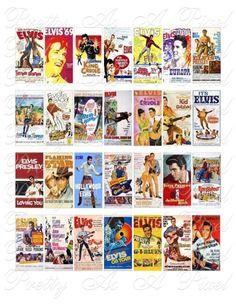 Elvis Presley Movie Posters
