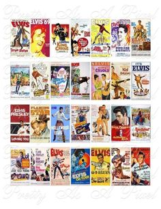 Elvis Presley Movie Posters.Most people know elvis for his music...but did you know he was also a famous movie star??!!