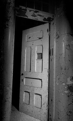 Seclusion room, abandoned asylum