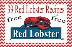Authentic recipes from red lobster