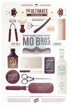 Growing a mo? Here are a few tips on how to groom it into the perfect gentleman's mo. Happy Mo-ing!