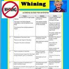 """Scoring Guide for Whining FREE! Do you get annoyed when your students whine every time you say, """"we are now going to write an essay"""" or, """"now..."""