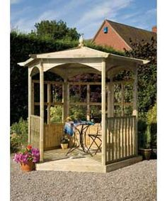 Buy Grange Fencing Budleigh Hexagonal Gazebo Dressed B at Argos.co.uk, visit Argos.co.uk to shop online for Gazebos, marquees and awnings