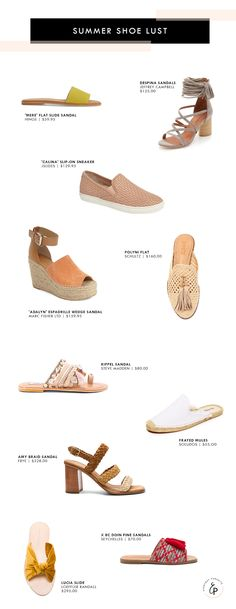 Summer shoes that I can't get enough of!