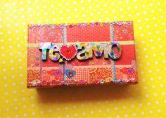 DIY Decora caja para Día de San Valentin unete a mi canal en Youtube!