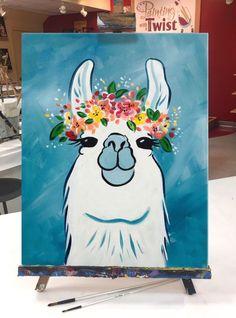 New painting art diy creative Ideas Cute Canvas Paintings, Easy Canvas Painting, Mini Canvas Art, Diy Canvas, Diy Painting, Painting & Drawing, Image Painting, Easy Acrylic Paintings, Cute Easy Paintings