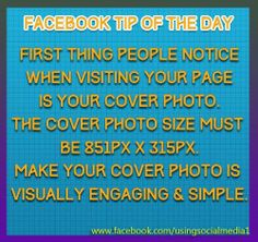 Facebook Tips on the Day