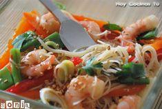 Hoy Cocinas Tú: Vermicelli con gambas y aliño tailandés