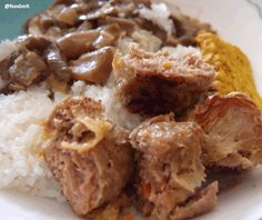 Guest blogger from Indonesia - peranakan meat roll - roujian