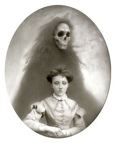 """Death and The Maiden Preview  Travis Louie  """"Miss Margaret and the Spirit of Death"""""""