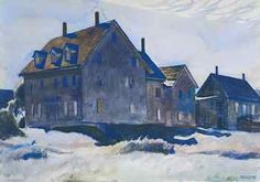 Edward Hopper (1882-1967), Haunted House, 1926, watercolor on paper,14 x 20 inches