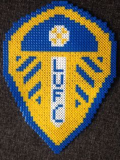 Leeds fc hama beads LUFC
