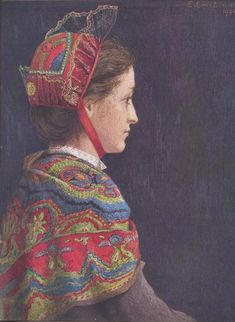 Girl's Costume of Jarrier, Savoy Estella Louisa Michaela Canziani Birmingham Museums Trust Folk Costume, Girl Costumes, Birmingham Museum, Collaborative Art, Contemporary Artwork, Rhone, Art Uk, Your Paintings, Traditional Outfits