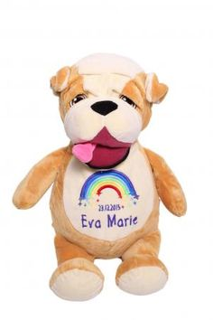 Barkus McDribble Bulldog Bullen, Eva Marie, Angst, Smurfs, Fictional Characters, Cuddling, Pet Dogs, Fantasy Characters
