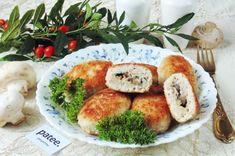 Котлеты из индейки с сыром и грибами