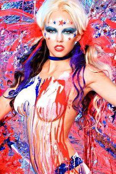 Body painting nude dot net