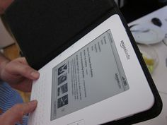 The Amazon Kindle arrives at the office     Kindly Number one book Publishing system