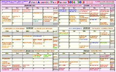 2014-2015 School Assembly Year Planner