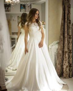 """561c3e28bbb Свадебный салон Мона Лиза Спб on Instagram  """"Идеальное платье - это когда  замужняя подруга при одном взгляде на тебя хочет еще раз выйти замуж!"""