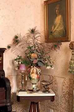 Gothic Dado Border Stencil featured in Victorian Homes Magazine!