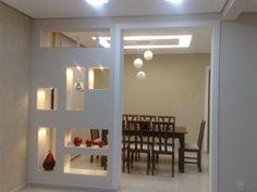 Interior Living Room Design Trends for 2019 - Interior Design Living Room Partition Design, Room Partition Designs, Living Room Divider, Living Room Decor, Ceiling Design, Wall Design, House Design, Room Deviders, Drawing Room Design