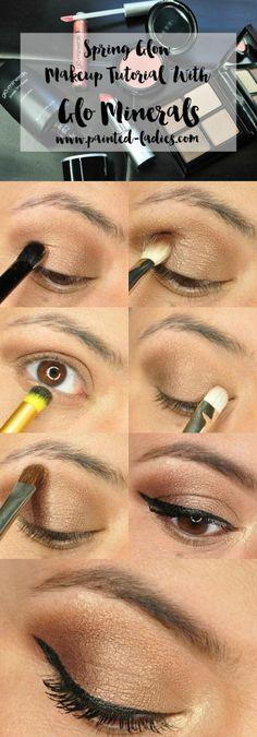 Glo Minerals Spring Makeup Tutorial