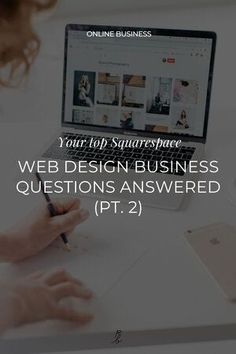 Wondering what it takes to start (or grow) your web design business? How to land clients? Set your prices? Or much you can expect to make as a designer? I'm answering all these and more in this 4 part Squarespace web design business Q A!    #squarespace #squarespacewebsite #squarespacetemplates  #websiteideas #squarespacetips #webdesigner Simple Website Design, Beautiful Website Design, Custom Website Design, Website Design Inspiration, Branding Portfolio, Web Design, Questions, Courses, Business Design