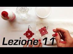 Chiacchierino Ad Ago - 11˚ Lezione Come Indurire Uncinetto Pizzo Bijoux - Tutorial Come inamidare