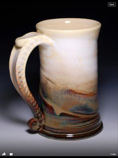 James Diem Ceramicslooks like white satin matte and a John H and RR glaze