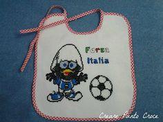 Bavaglino Forza Italia Calimero