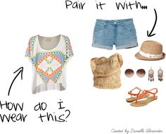 A Tribal Print Summer, created by daniellealexander on Polyvore